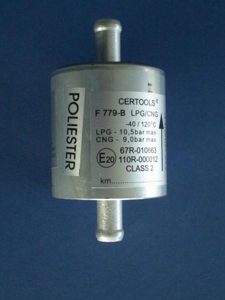 LPG Gasfilter 12 mm